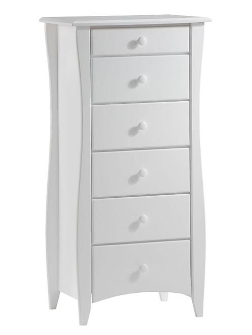 Hollywood White Lingerie Dresser