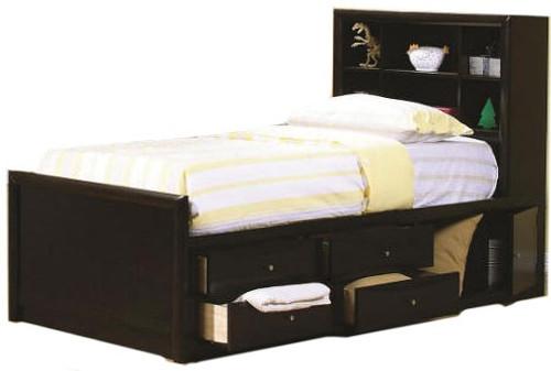 Leon Bookcase Captain's Bed