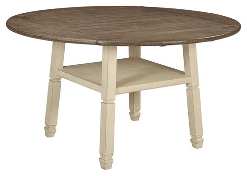 Stevie B Round Drop Leaf Counter Height Table