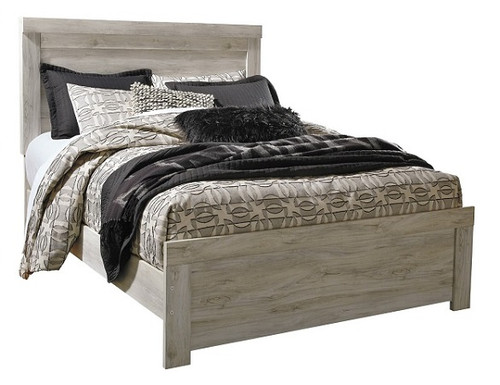 Florence Driftwood Panel Bed queen size