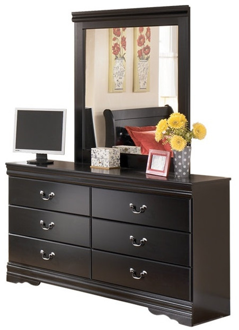Arturo Mirror shown with Optional Dresser