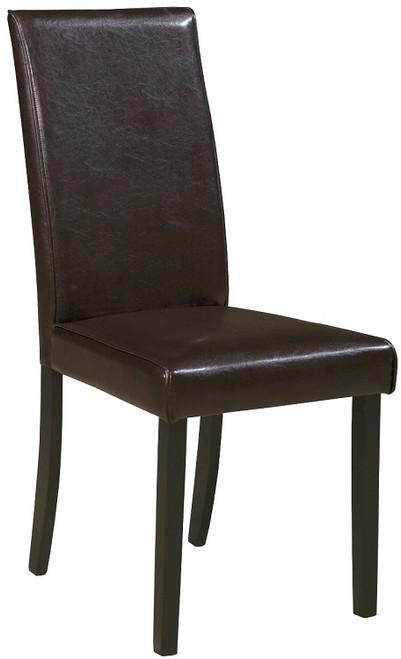Pierce Set of 2 Dark Brown Chairs