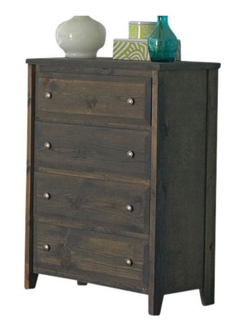 Carmichael Gray Wooden Chest of Drawers