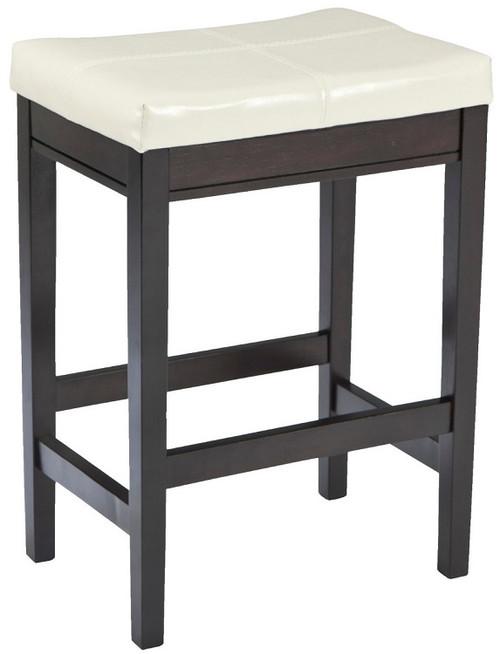 Pierce Set of 2 White Barstools