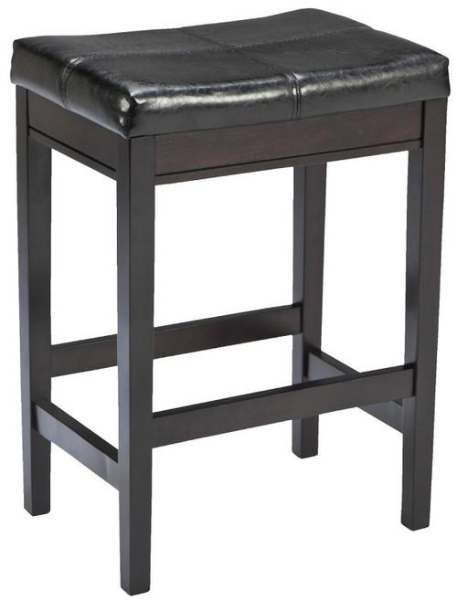 Pierce Set of 2 Dark Brown Barstools