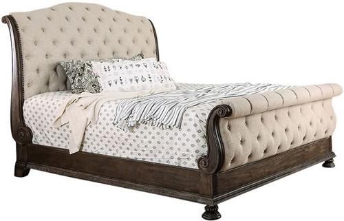 Lucinda Upholstered Sleigh Bed