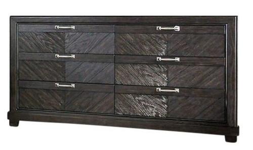 Lopez Espresso 6 Drawer Dresser