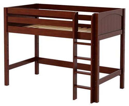 McQwinn Chestnut Twin Junior Loft Bed