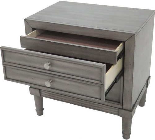 Aires 2 Drawer Bedroom Night Stand