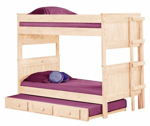 Duke Unfinished Rustic Bunk Beds
