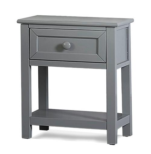 Barrett Gray 1 Drawer Nightstand