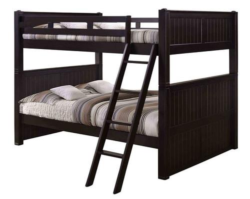 Foster Espresso Queen Size Bunk Beds