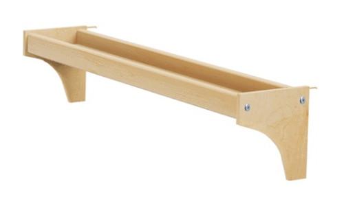 Lingo Natural Long Bed Shelf
