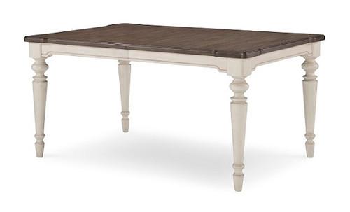 Westport Weathered White Farmhouse Kitchen Table