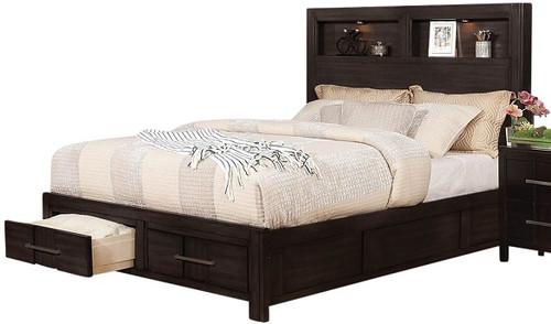 Hatcher Panel Storage Bed