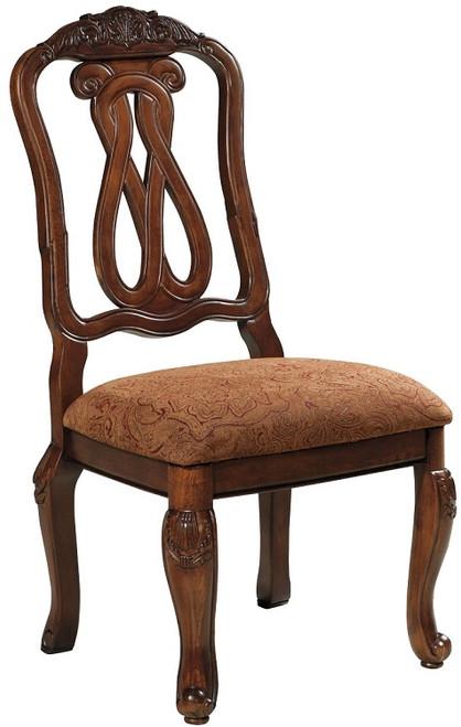 Raliegh Set of 2 Side Chairs Cherry single chair