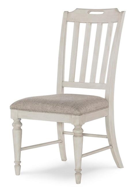 Westport Weathered White Farmhouse Kitchen Chairs