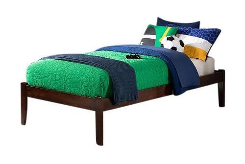 Mason Walnut Twin XL Platform Bed