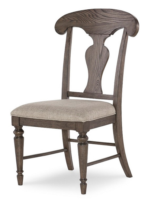 Westport Weathered Brown Farmhouse Dining Chairs