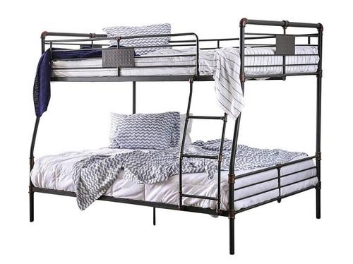 Reston Metal Full over Queen Bunk Bed