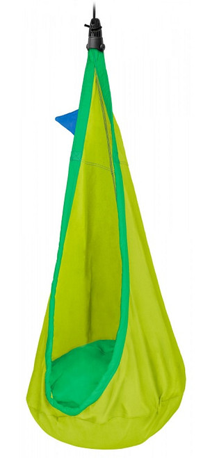 Indoor Outdoor Lime/Green Kids Cuddle Hammock