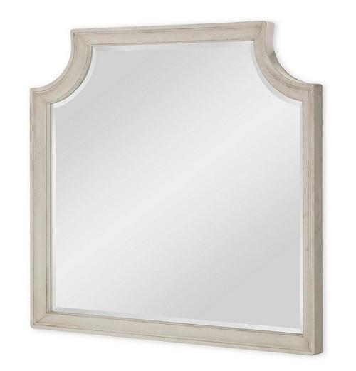 Westport Weathered White Farmhouse Mirror