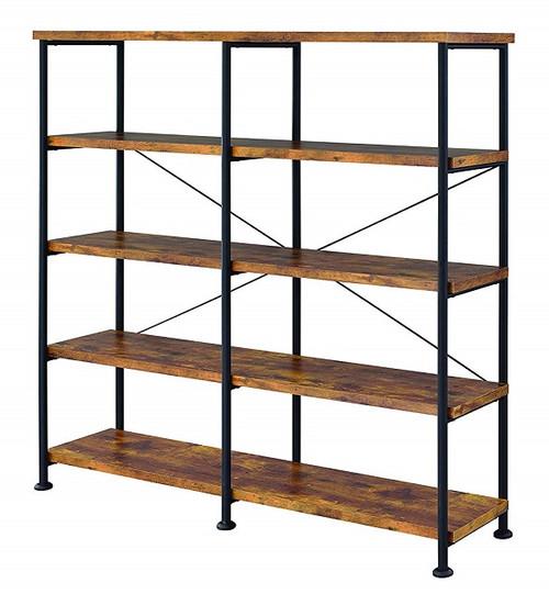 Andria Nutmeg Large Bookcase