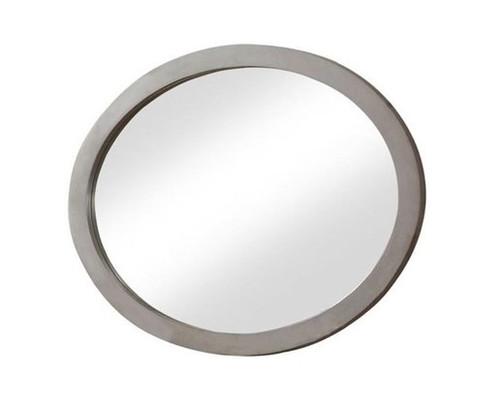 Gunnar Grey Oval Mirror