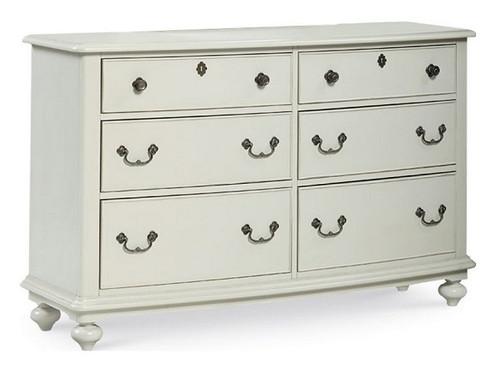 Sierra Distressed Gray 6 Drawer Dresser