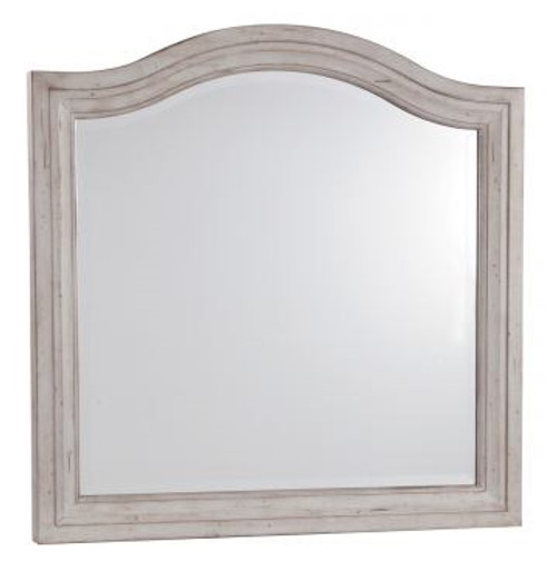 Brylee Arched Mirror Antique Gray