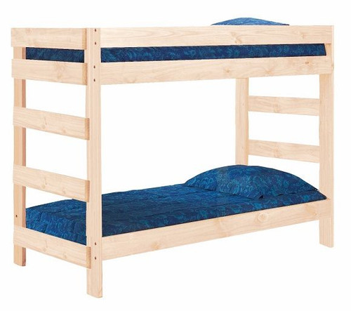Arlington Unfinished Extra Long Bunk Beds twin XL