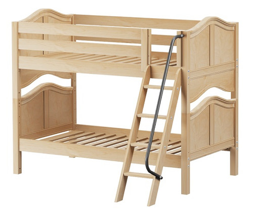 Mariah Natural Bunk Beds for Girls twin