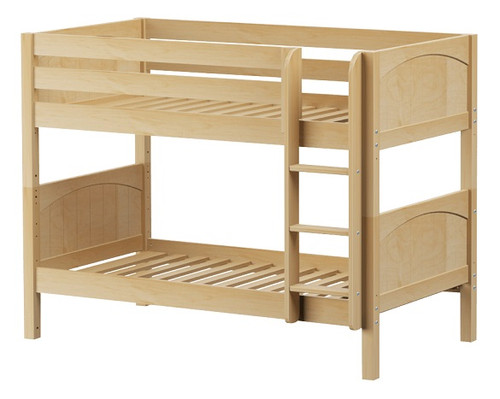 Southern Shores Natural Low Bunk Beds twin size