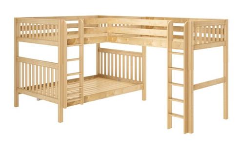 Explore Various Queen Over Queen Bunk Beds For Adults Kids
