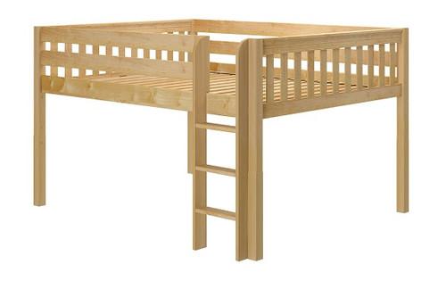 Bennett Natural Low Queen Loft Bed Frame