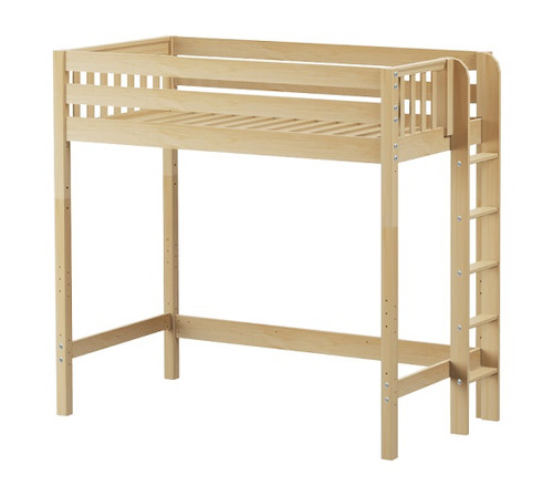 Stella Natural Ultra High XL Twin Loft Bed for Adults