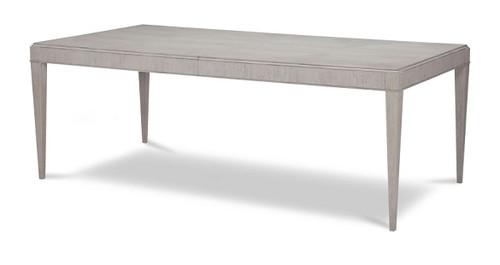 Alvoranda Brushed Gray Extendable Dining Table