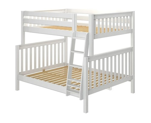 Lily White Full over Queen Bunk Bed