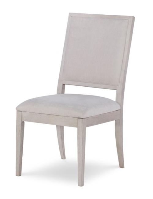 Alvoranda Brushed Gray Upholstered Dining Chair