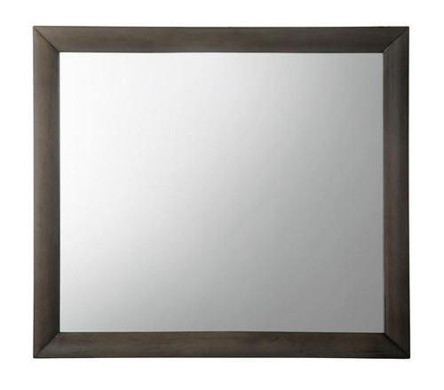 Manville Gray Rectangle Mirror