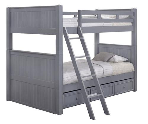 Moreno Grey Queen over Queen Bunk Bed