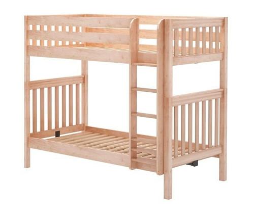 Bennett Natural Twin XL Bunk Beds