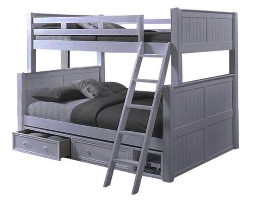 Moreno Grey Full over Queen Bunk Bed