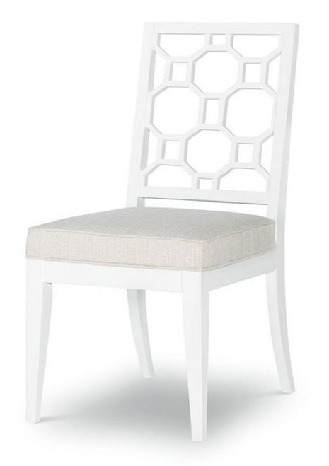 Antoinette Set of 2 White Dining Chairs