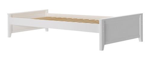 Stella White Twin Platform Bed Frame