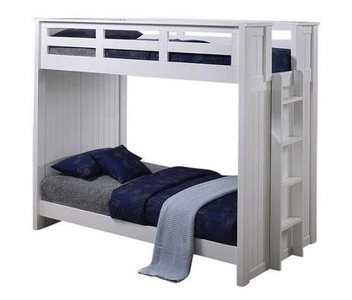 Edrea White XL Bunk Beds