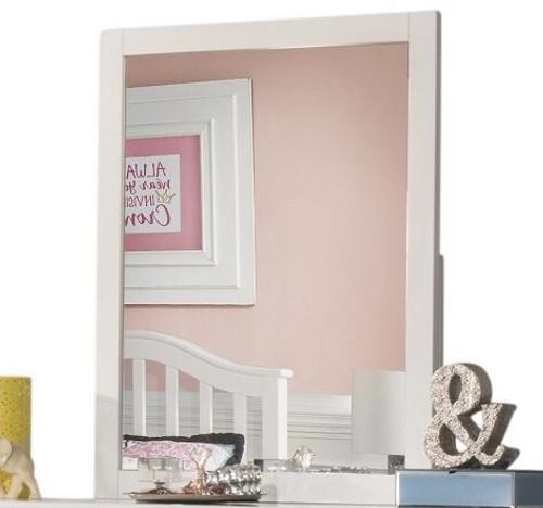 Charlotte White Tall Mirror
