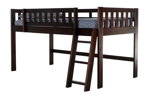 Phoenix Espresso Low Loft Bed