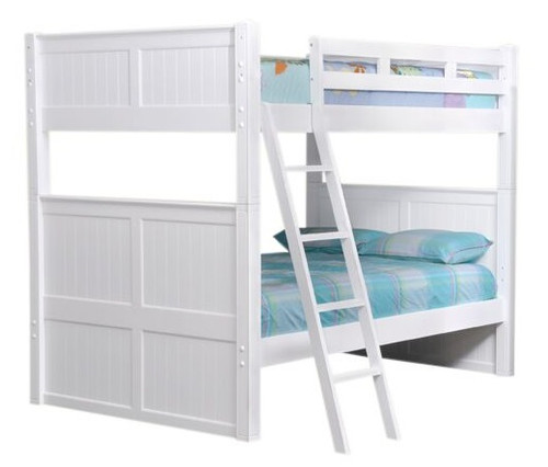 Beatrice Full XL Bunk Beds White