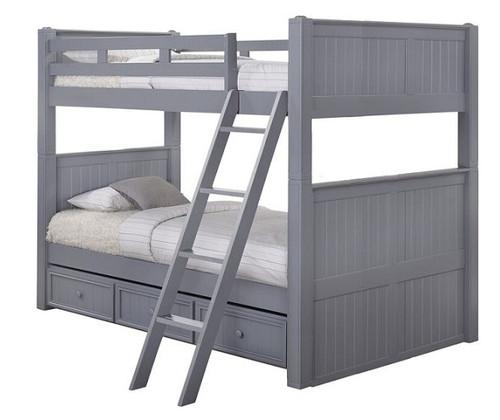 Moreno Grey Full XL Bunk Beds